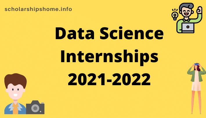 Data Science Internships 2021-2022
