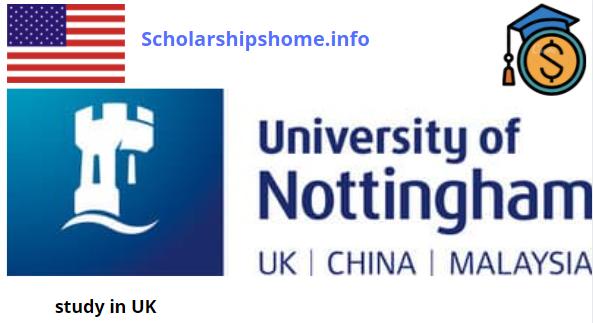 Developing Solutions Masters Scholarship At Nottingham University UK