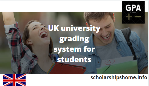 UK university grading system for students