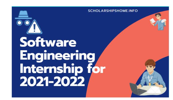 Software Engineering Internship for 2021-2022