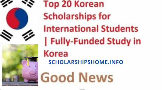 Top 20 Korean Scholarships for Global Understudies having a place from any region of the planet. It's a chance to get a Full Financed study in South Korea.