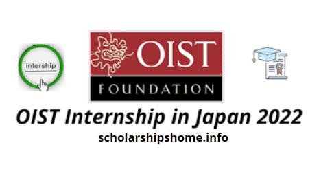 OIST Internship in Japan 2022 | Fully Funded